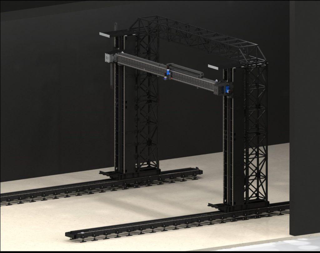 3D модель портального сканера