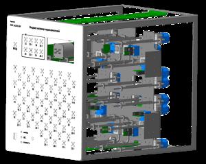 Вывод схемы переключений и протокола переключений на экране Возможность работы как самостоятельного устройства Удалённая конфигурация, управление, обновление ПО Возможность разнесения переключателей на значительное расстояние Опции звукового сопровождения и тактильного управления Одновременное управление неограниченным числом устройств различных производителей